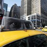 News: Chuck Close Taxi Exhibition